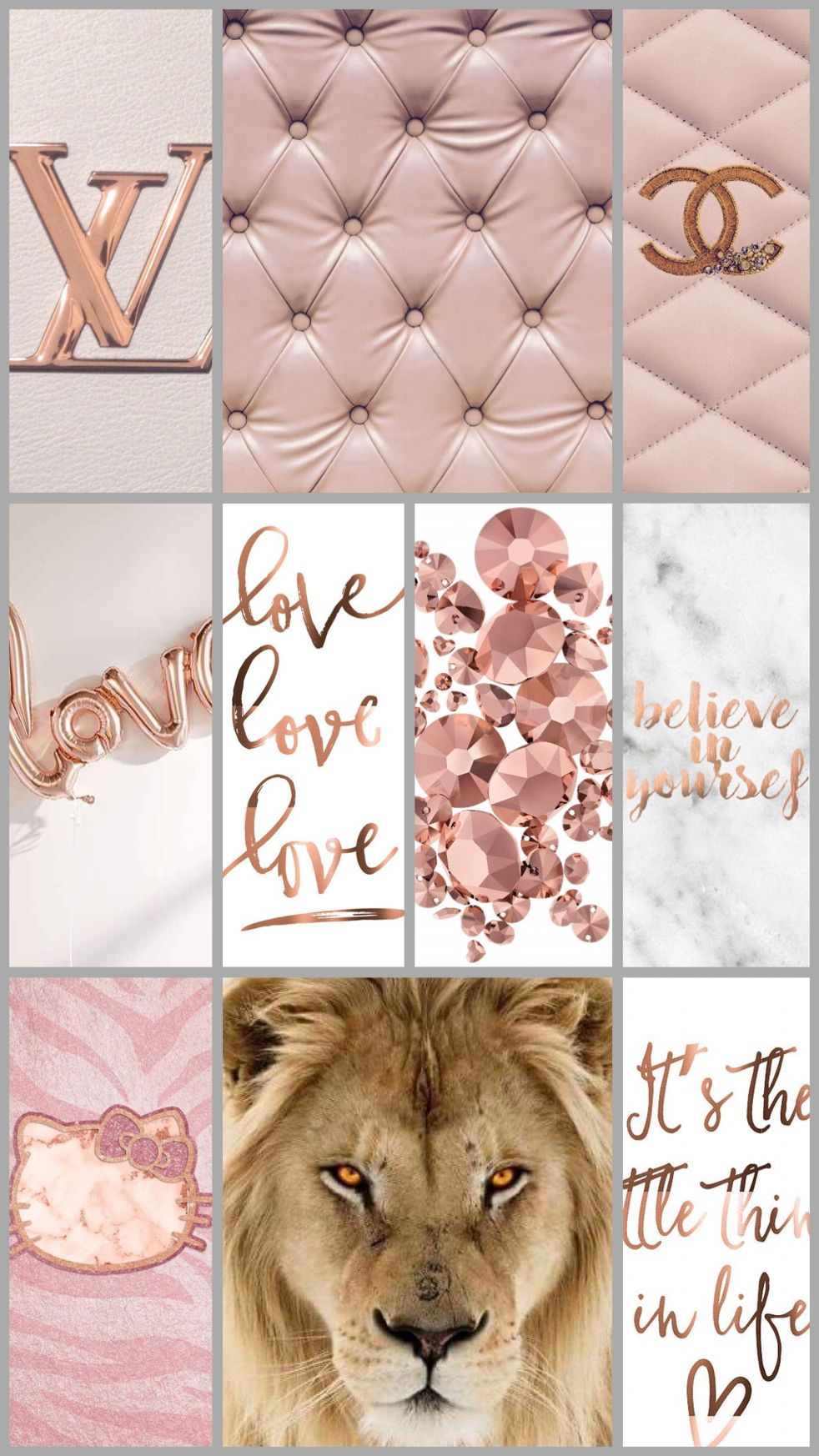 Iphone 6 Wall Made By Me Rose Gold Wallpaper Iphone Background
