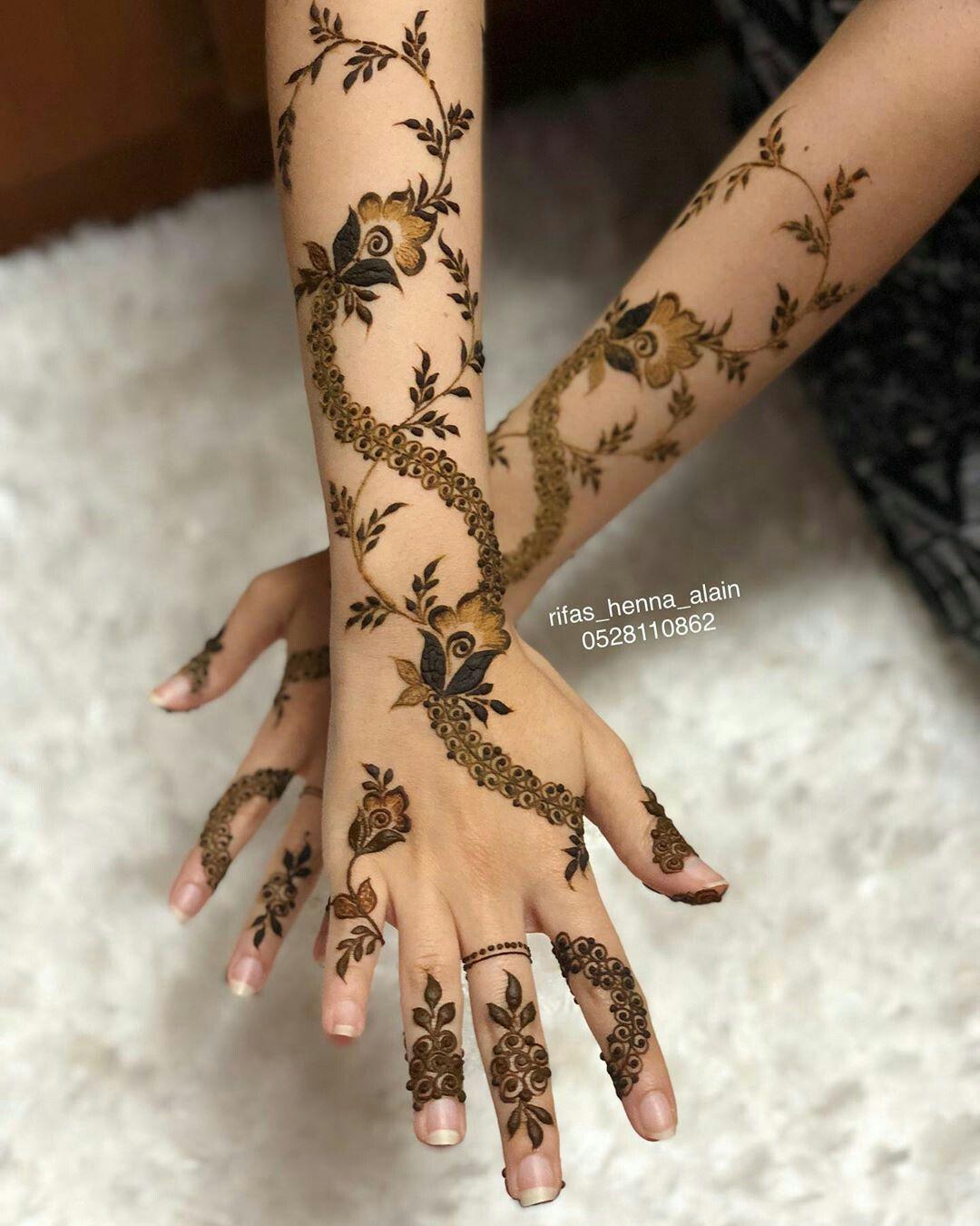 Pin By Samrmoohamad On نقشات حناء Mehndi Designs For Hands Mehndi Designs Hand Henna