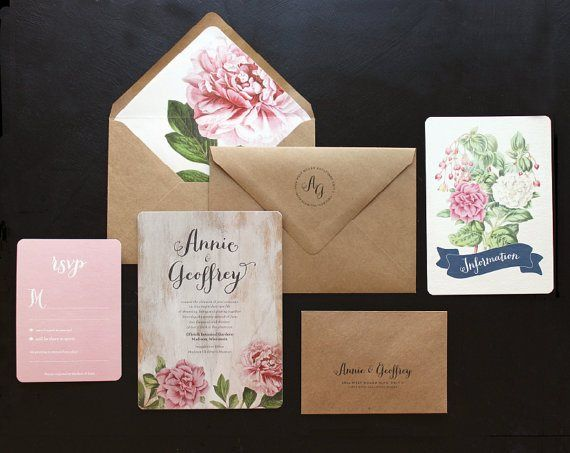 Tashauna-- i don't like the invite but I think I would like to do an envelope lined w vintage floral paper, if that gives you an idea for the invite