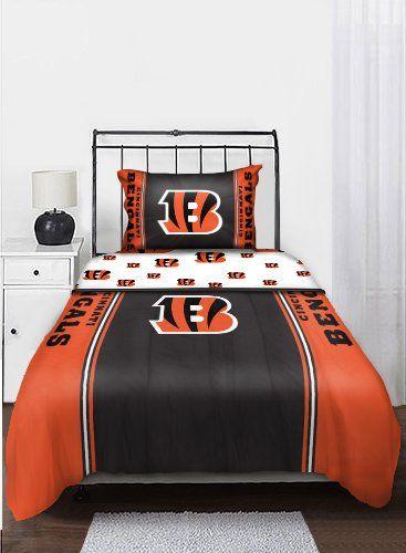114 71 119 99 Baby Nfl Cincinnati Bengals Twin Bedding Set Complete Your Bedroom With The
