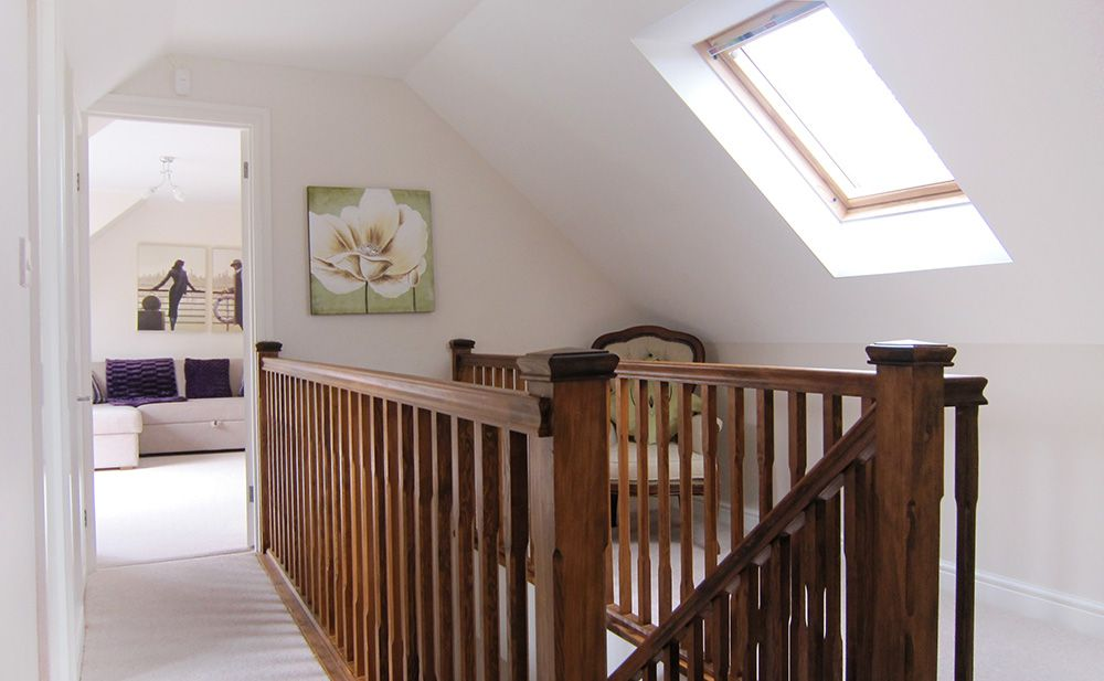 Pin By Emily Reed On House Stuff Attic Remodel Slanted Walls Loft Conversion