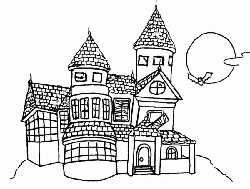 Disney Castle Coloring Page Elegant New Disney Coloring Pages Princess Cinderell In 2020 Halloween Coloring Pages Halloween Coloring Pages Printable Halloween Coloring