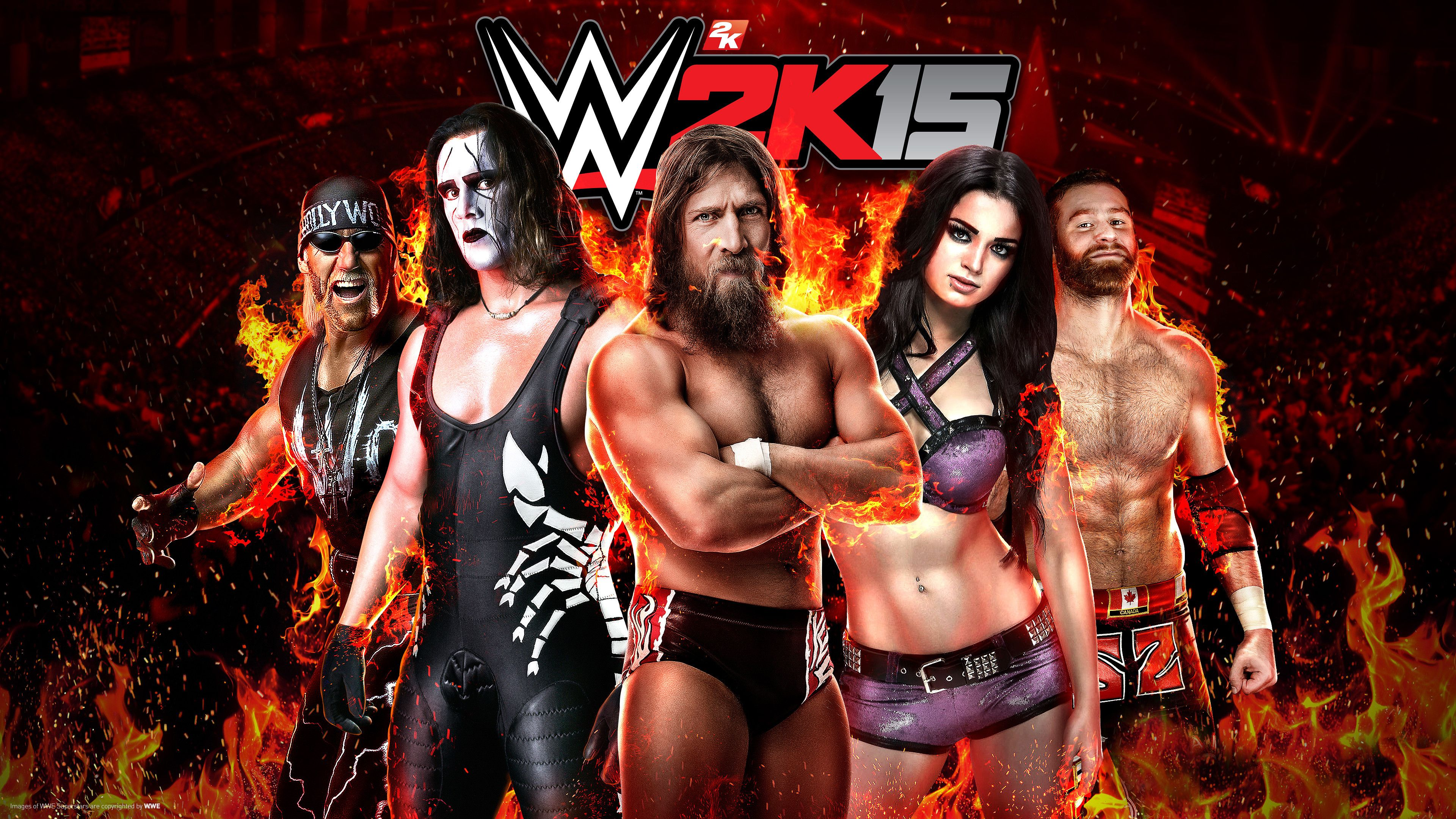 Wwe Best Wallpaper Of The Month 3840x2160 Wwe Download Games Pc Games Download