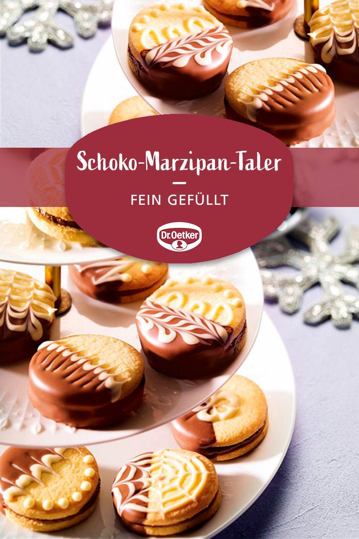 Schoko-Marzipan-Taler #cheesecakes