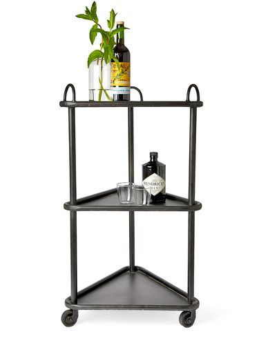 Bobo Intriguing Objects Designed This Iron Trolley To Tuck Into A Corner