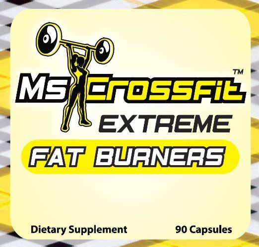 Amazon.com: Ms Crossfit Extreme Fat Burners for Women 90 Capsules - Best Fat Burner Supplements That Works Fast: Health & Personal Care