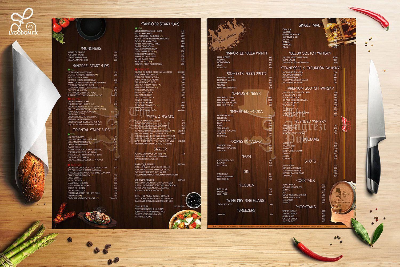 creative menu card design wwwimgkidcom the image kid