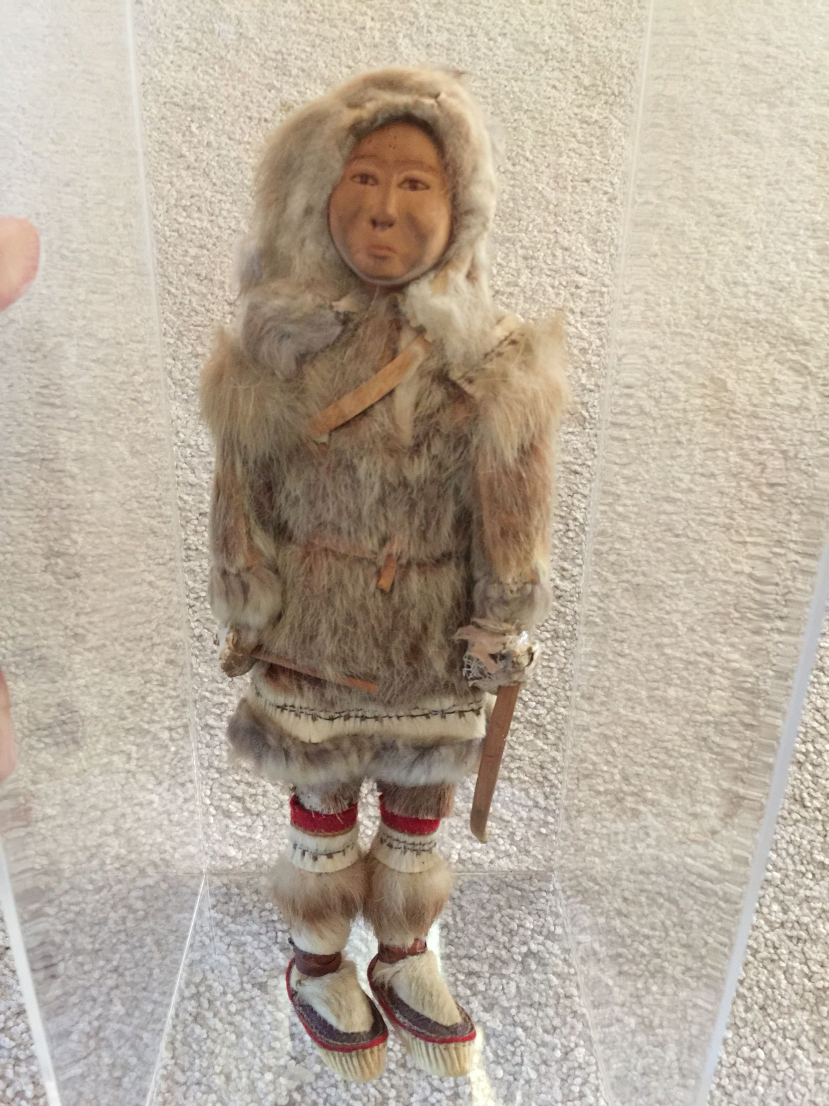 My Great Grandmother Ethel Washington's handmade Iñupiaq doll  | I