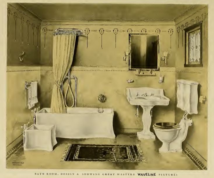 Pic Of Image result for victorian bathroom design drawings