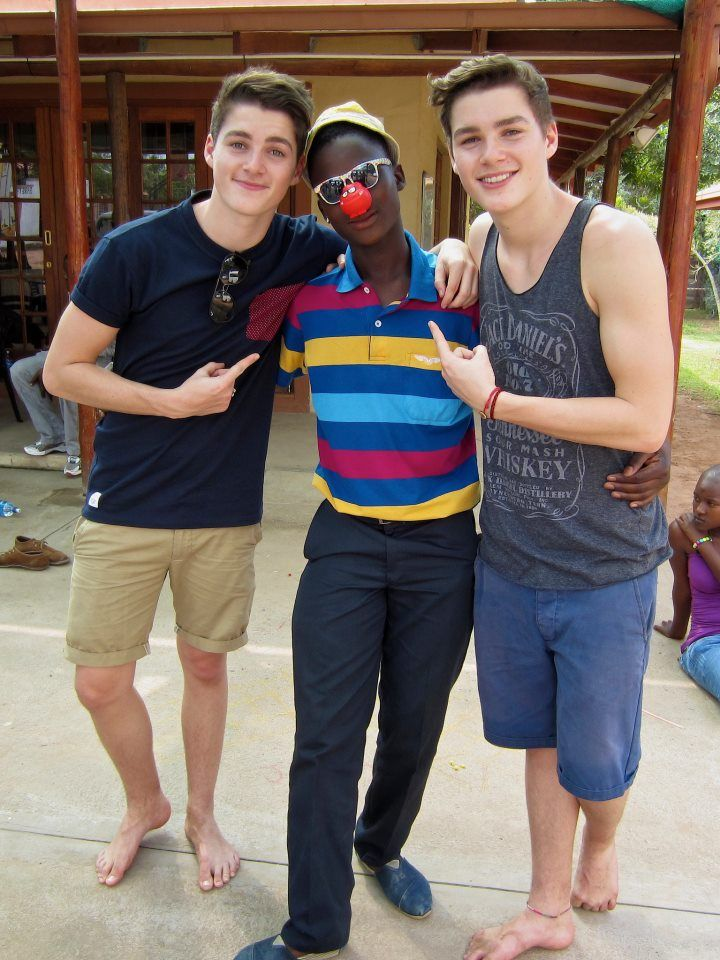Finn Harries | Going to South Africa with Comic Relief ...