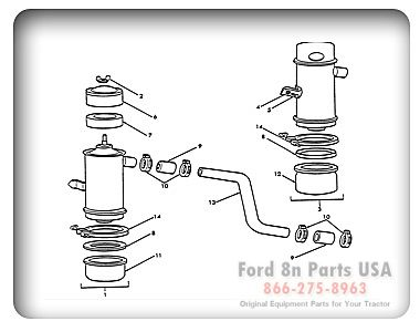 Parts For Your Ford 8n Tractor With Diagrams Tractors For Sale Ford 8n Parts Ford
