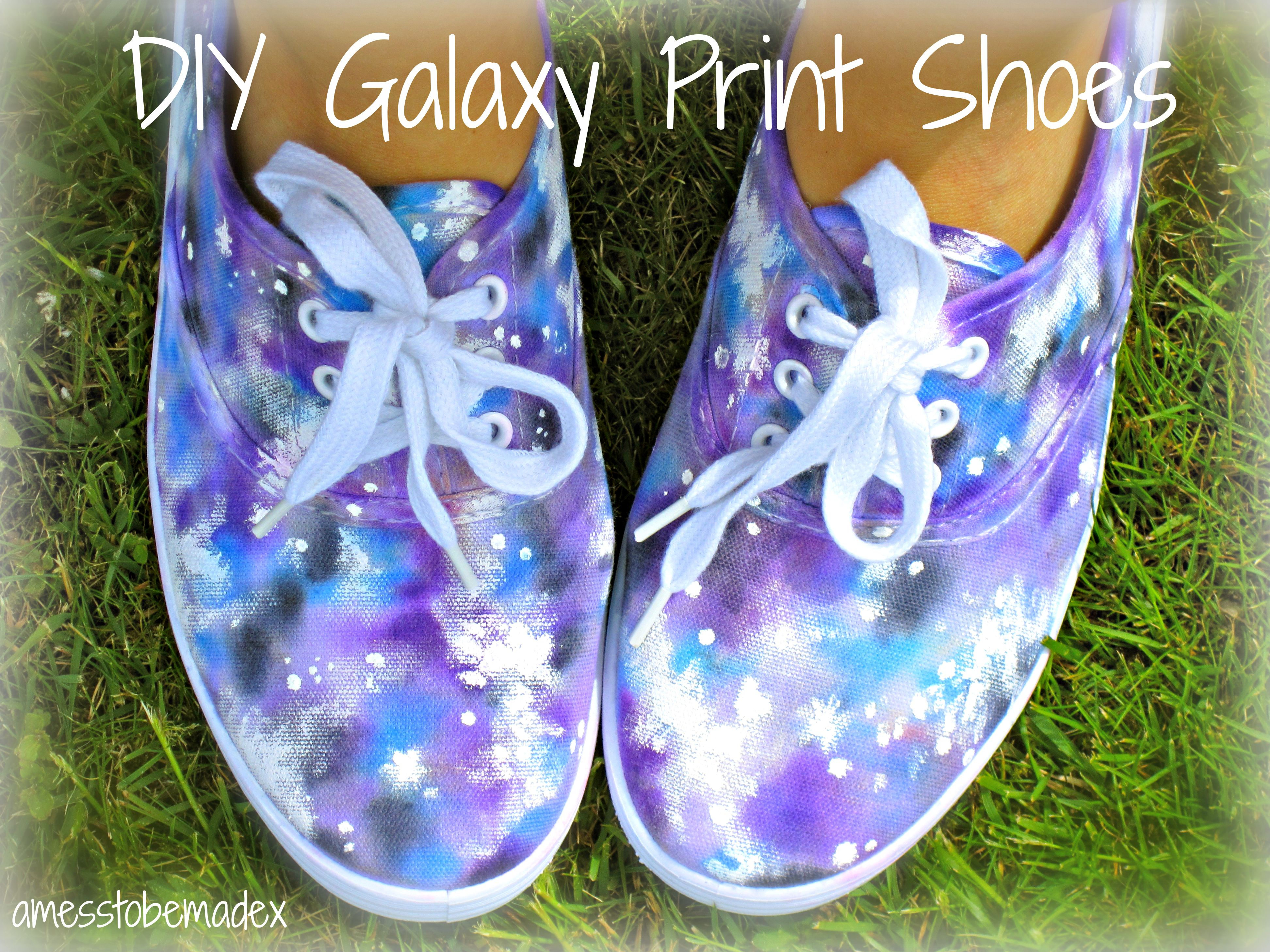 DIY Galaxy Print Shoes | Diy galaxy, Sharpie shoes and Sharpie tie dye