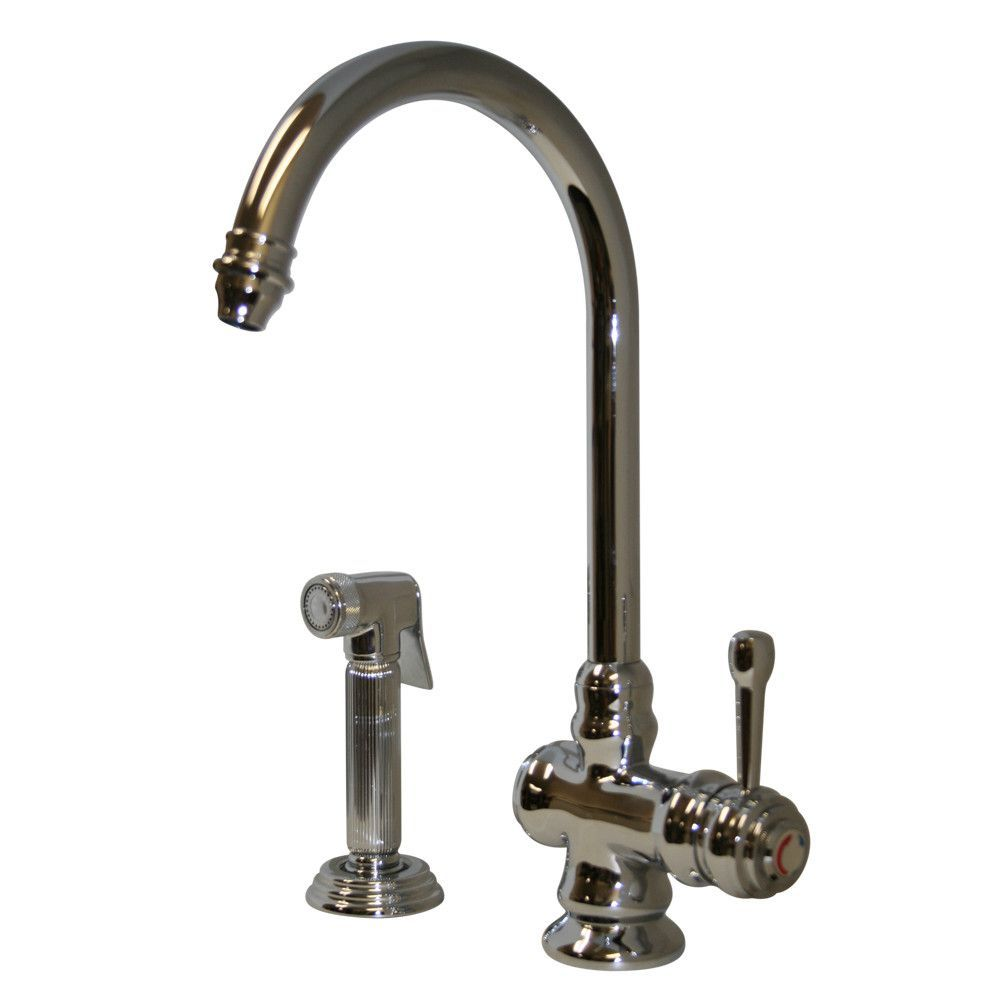 Evolution Colonial One Handle Single Hole Kitchen Faucet With