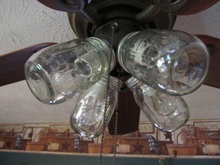 Ceiling Fan With Mason Jar Lights