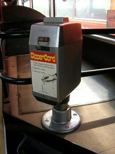 Clippercard machines. They stunk when they burnt out.
