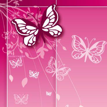 hd cute pink butterfly - photo #27