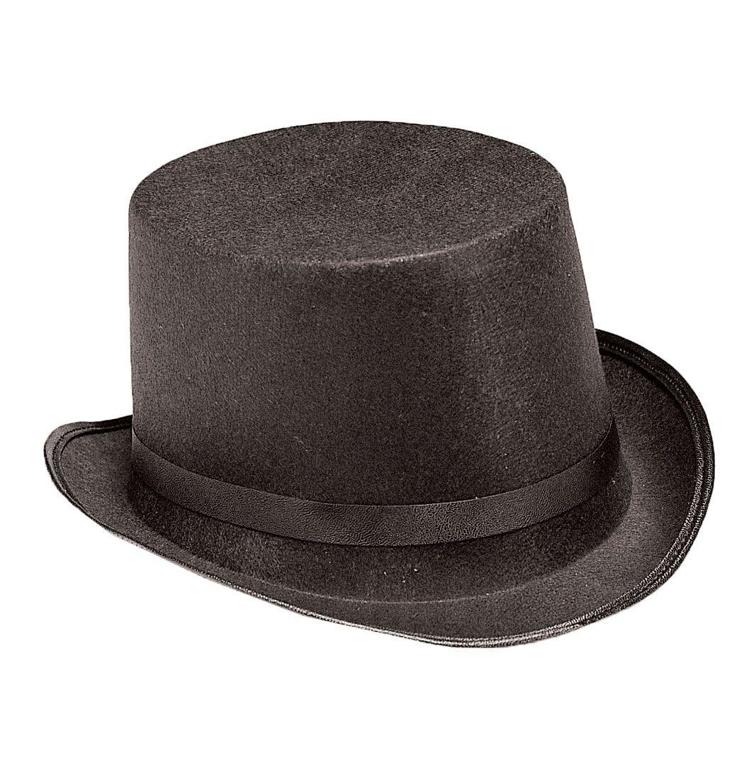 Kids Black Top Hat - Costume Hats.  KIDS BLACK TOP HAT Costume Hats (Item #HAT780)   $7.25