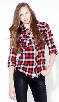 763312727 camisas cuadros mujer | Blusas cuadriculadas. ✌ | Camisas cuadros ...