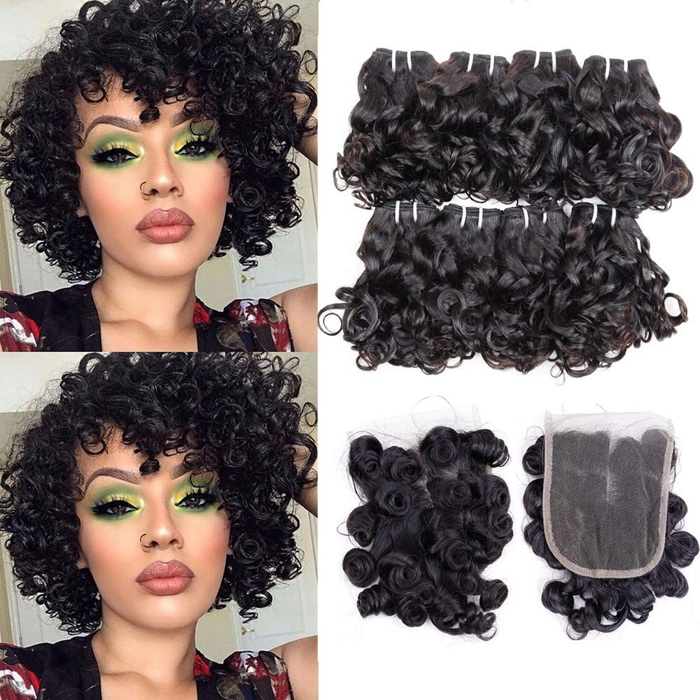 Short Hair Extensions Hair Extensions For Short Hair Peruvian Curly Hair Weave Hairstyles