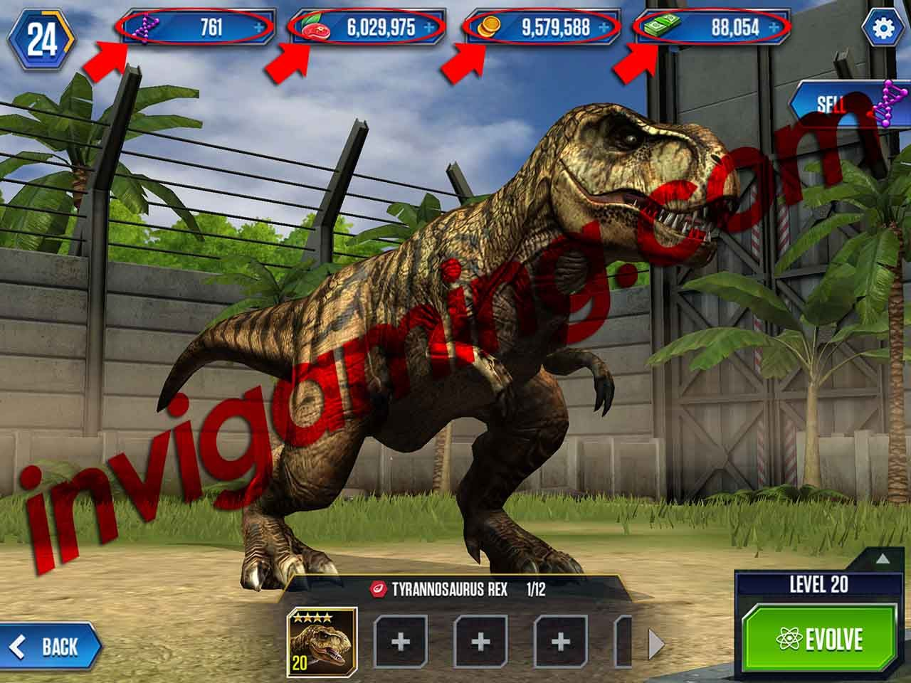 How To Get Indominus Rex In Jurassic World The Game