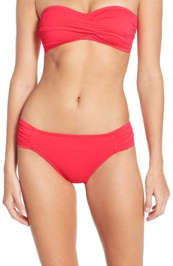 29bf9f569ae54 Women's La Blanca Island Goddess Hipster Bikini Bottoms, Size 4 ...