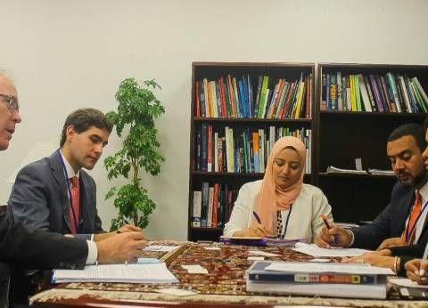سحر نصر تناقش مع وزير الاقتصاد السويسري زيادة التعاون بين البلدين - الوطن