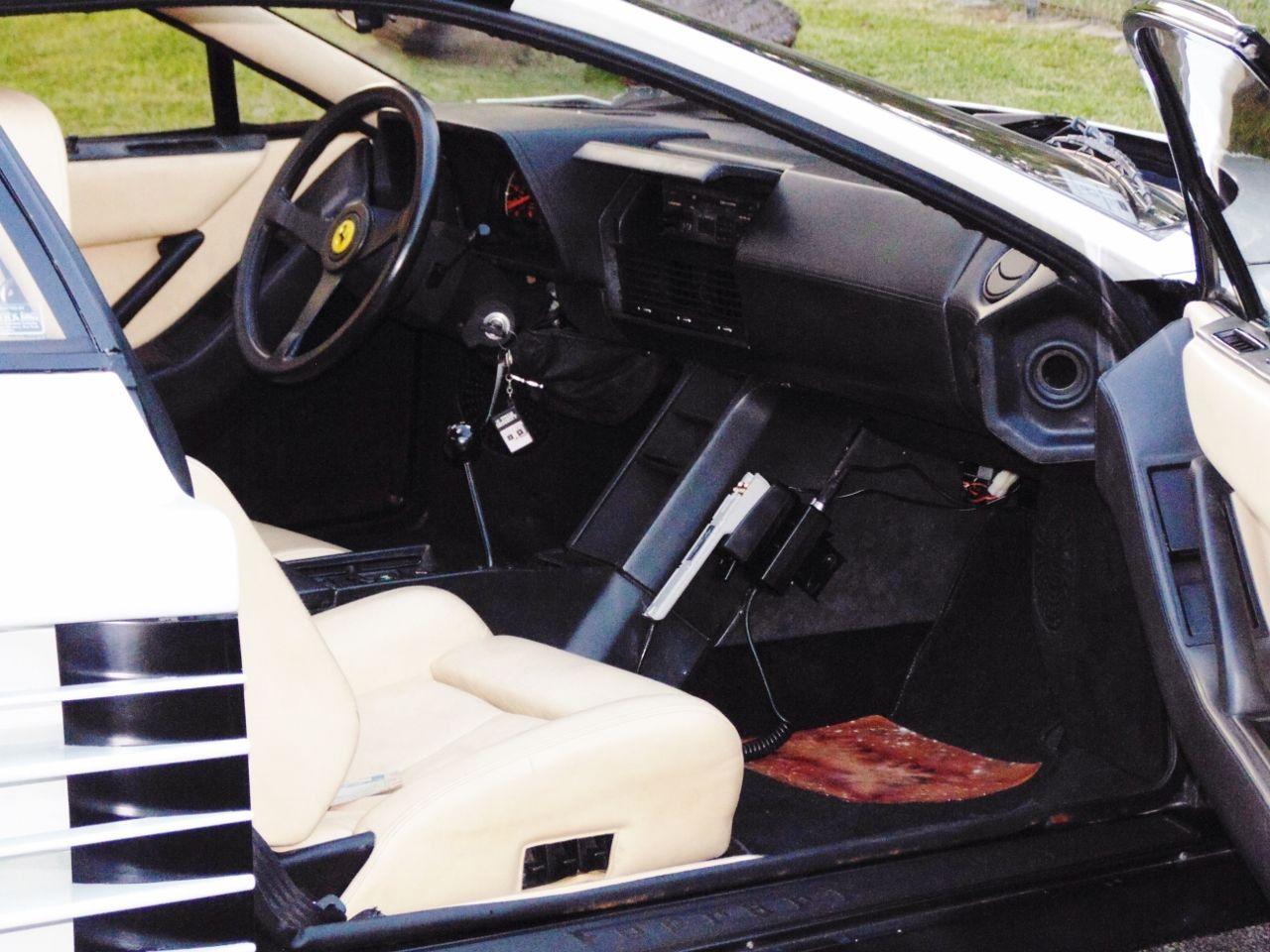 Miami Vice Ferrari Interior Ferrari Testarossa Miami Vice Ferrari