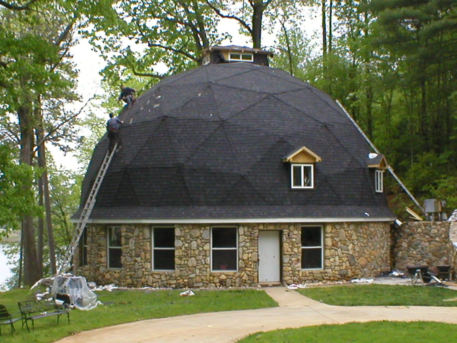 круглые купольные дома фото резервируем