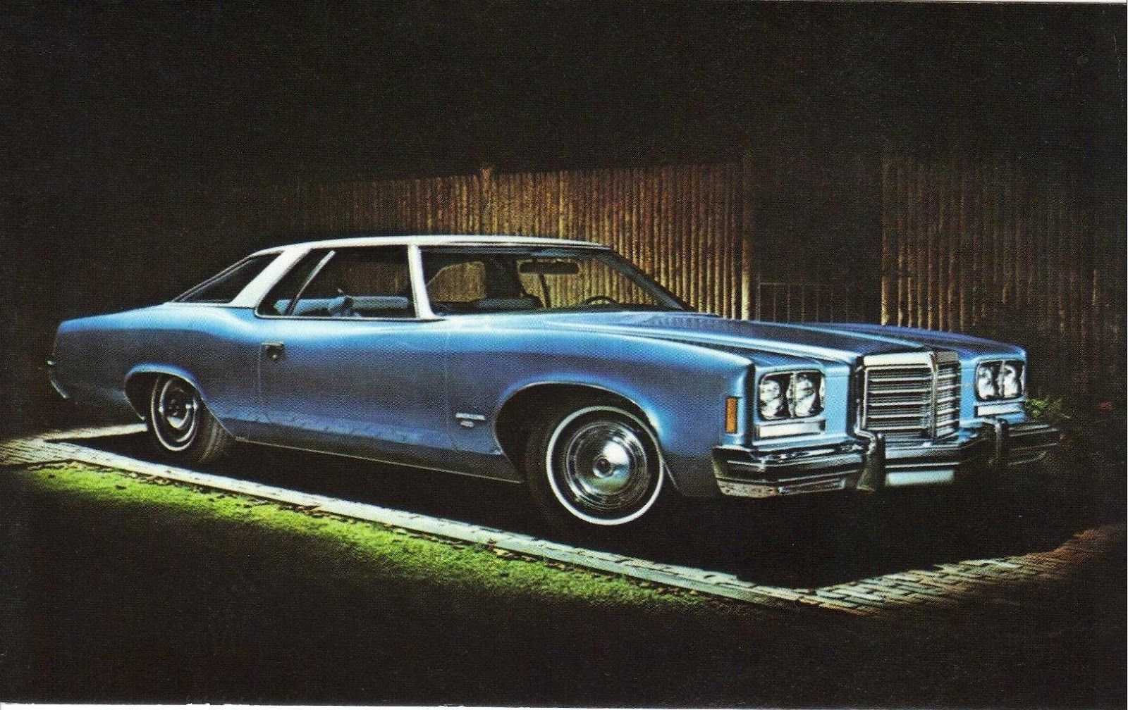 1976 Pontiac Catalina 2 Door Hardtop This Was The Sixth And Last Car I Remember My Dad Owning It Was This Same Blue On Th Pontiac Catalina Pontiac Catalina