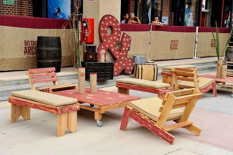 Photo of Need some hyped frass chairs or coffee counter?, check out each of these pallet …