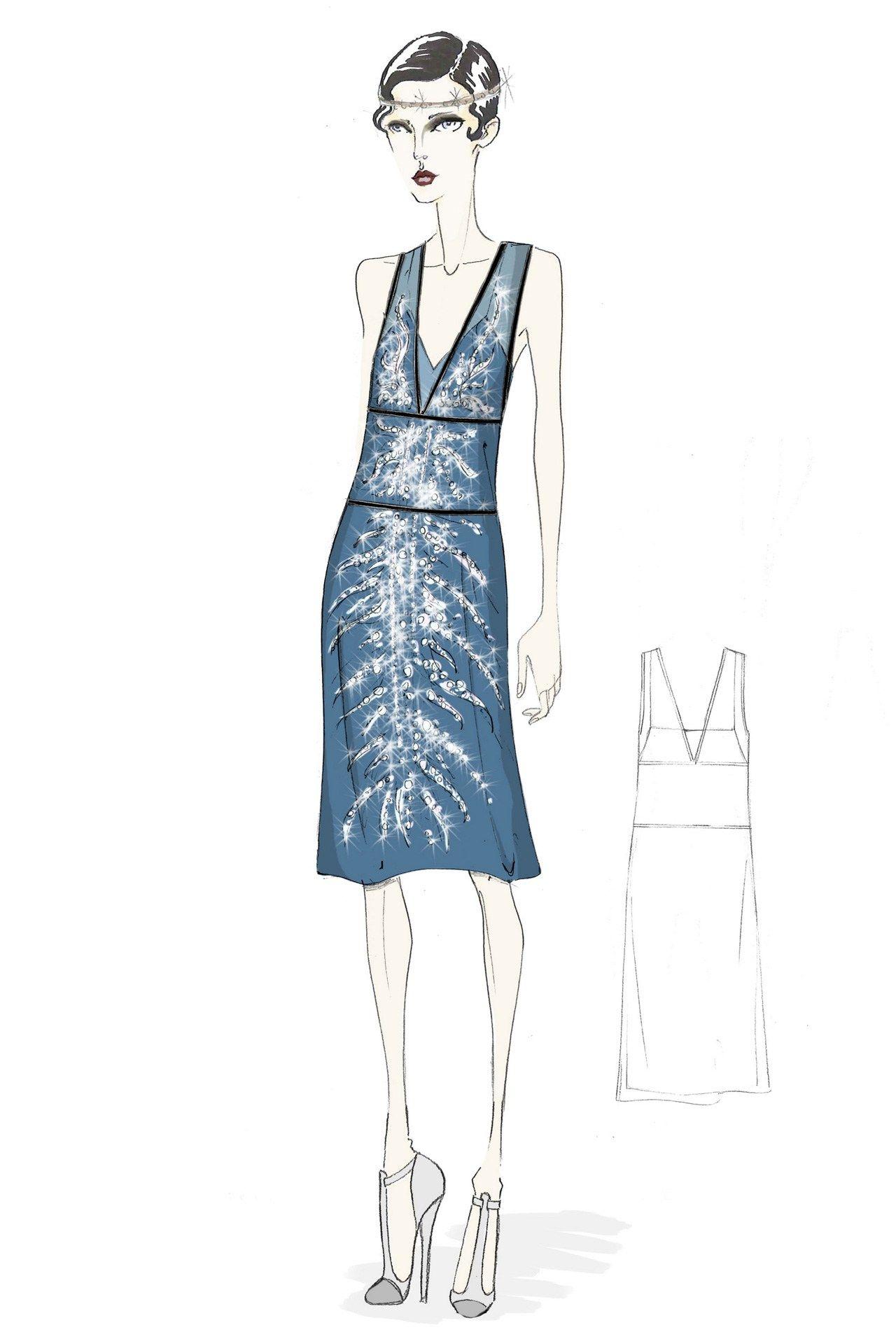 Great Gatsby Prada Costumes Preview | Bright lights, Swarovski and ...