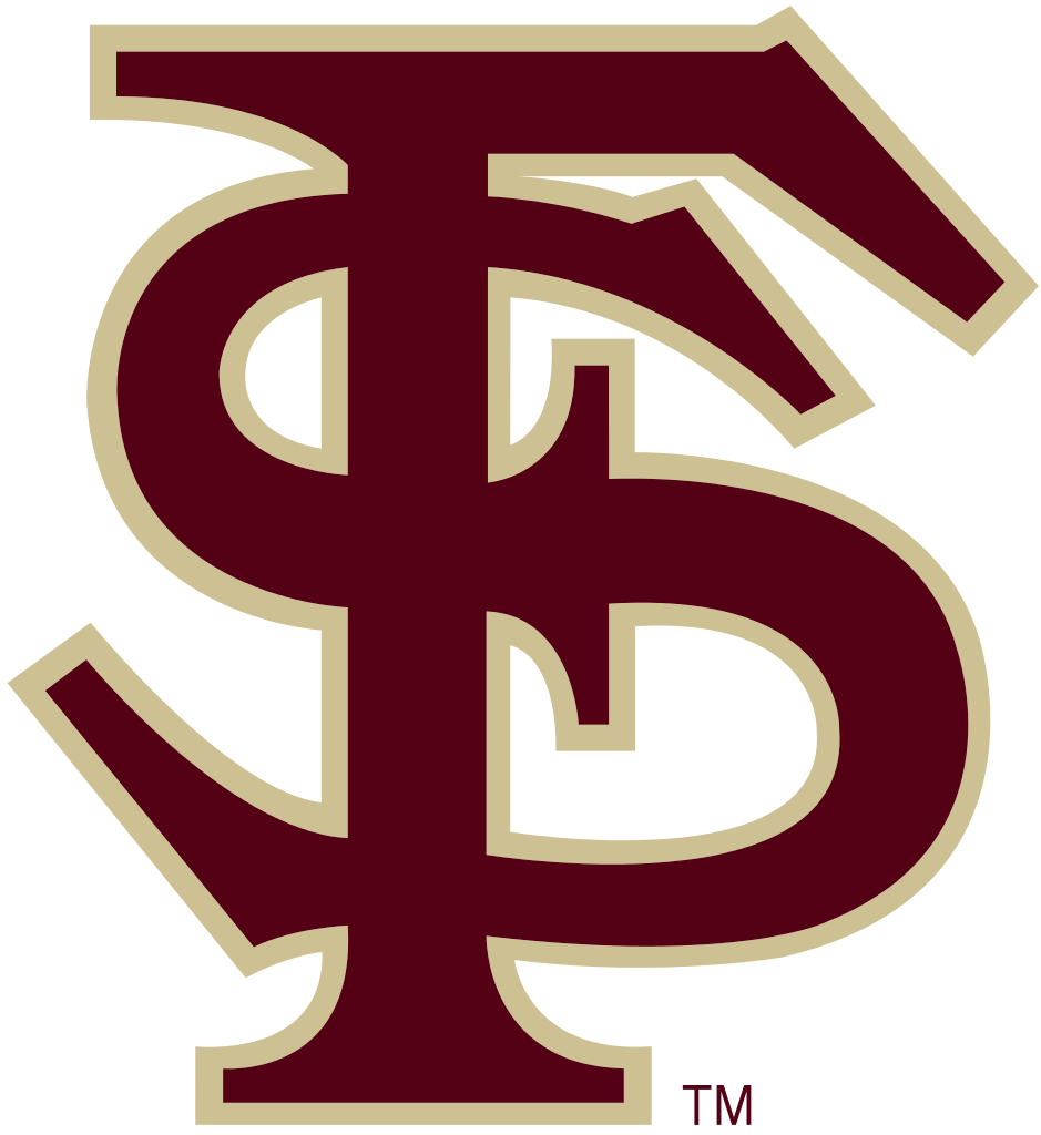 File Fsu Text Logo Svg Florida State Seminoles Florida State University Florida State Seminoles Football
