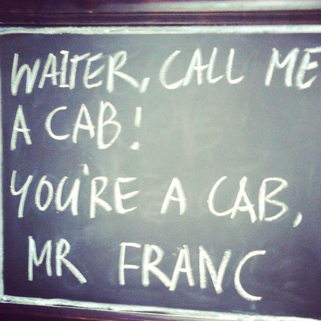 Your a Taxi