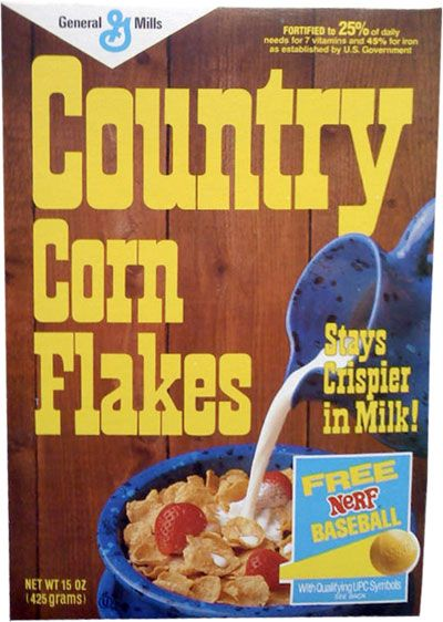 Country Corn Flakes Loved The Rustic Box Design And The Cereal