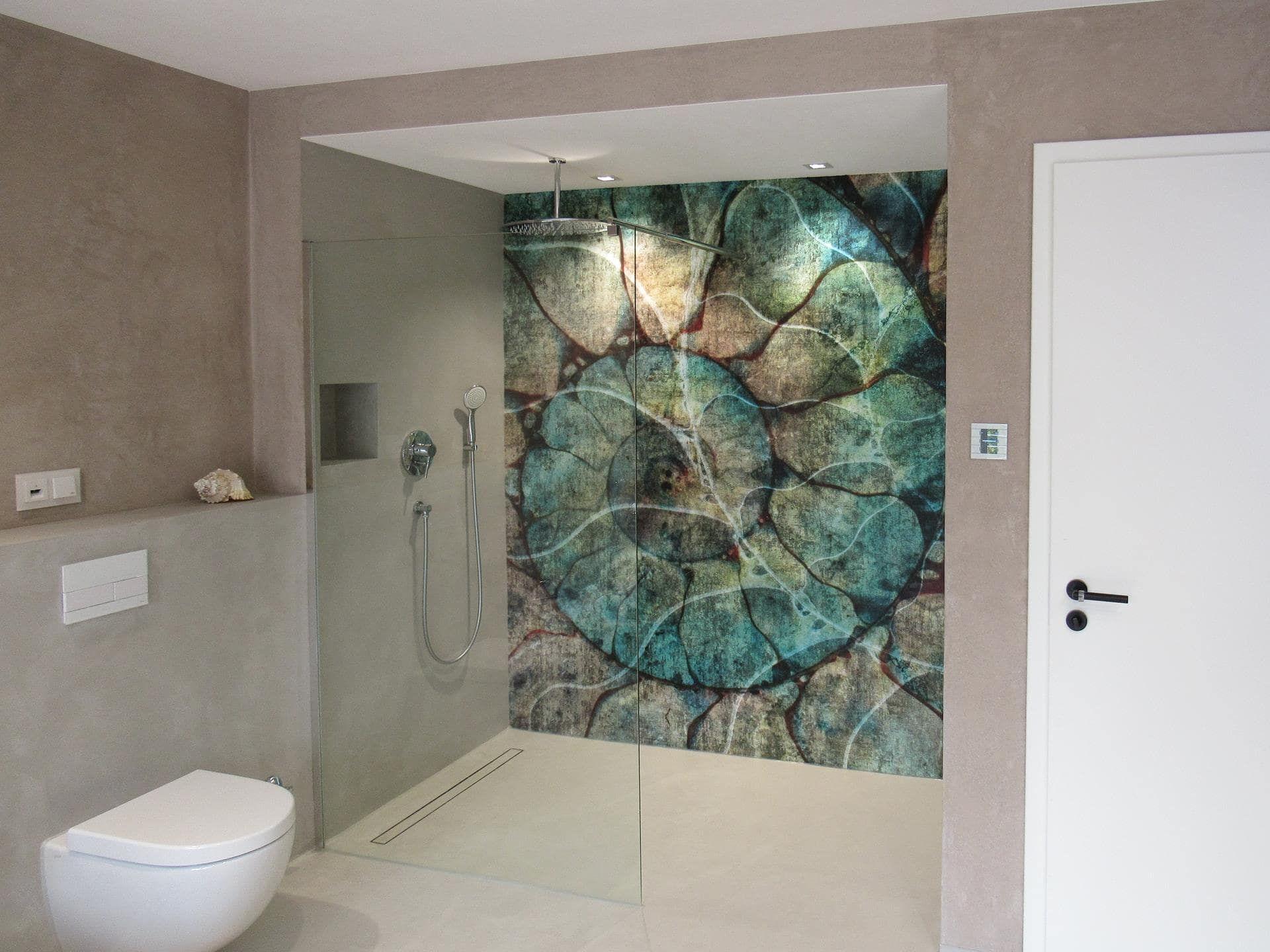 GLAMORA Wallcoverings, Tapete in der Dusche!  Badezimmer tapete