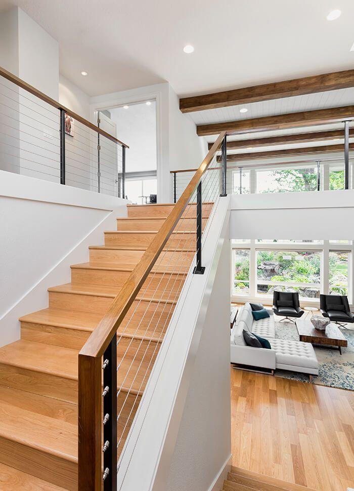 Stairs 2015 Street Of Dreams Serenity Built By Westlake