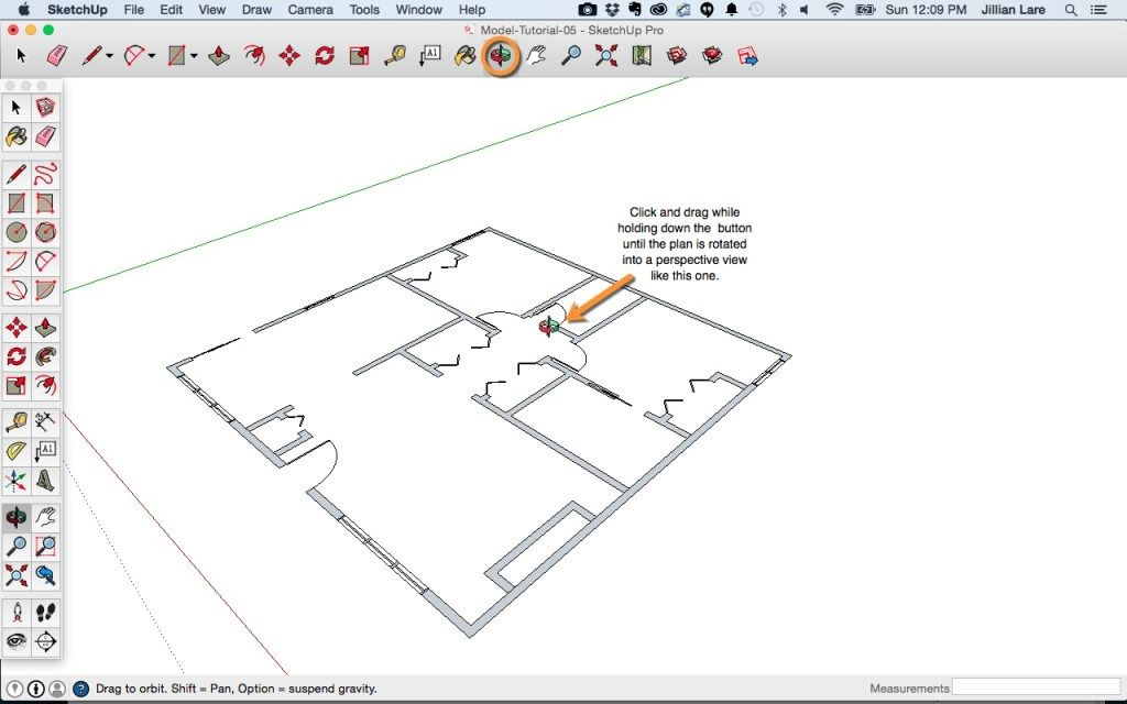 Sketchup Tutorial 3d House Plan How To Plan Floor Plans Tutorial