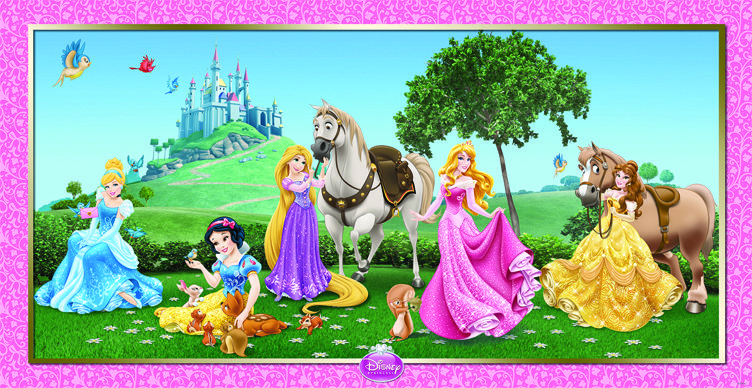 Disney Prinsessat -juliste