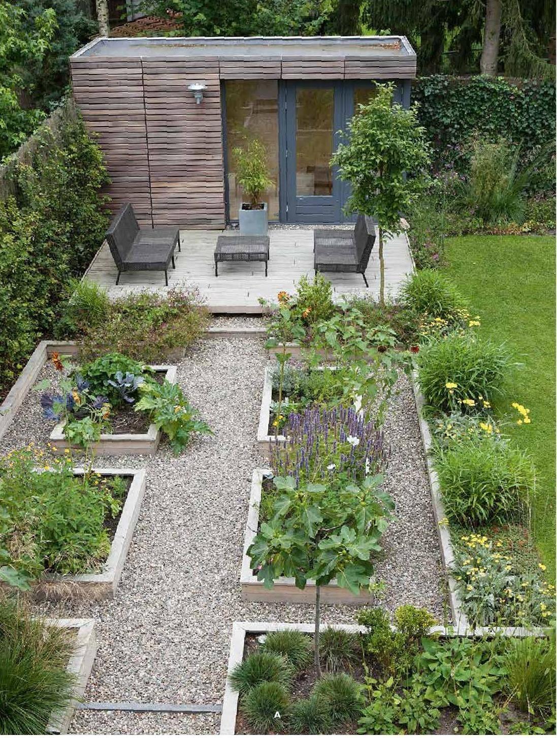 Wegner Lorey Gartengestaltung Mit Hochbeet In 2020 Backyard Landscaping Vegetable Garden Design Small Cottage Garden Ideas