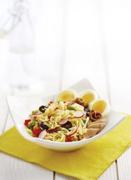 Avoines en salade niçoise