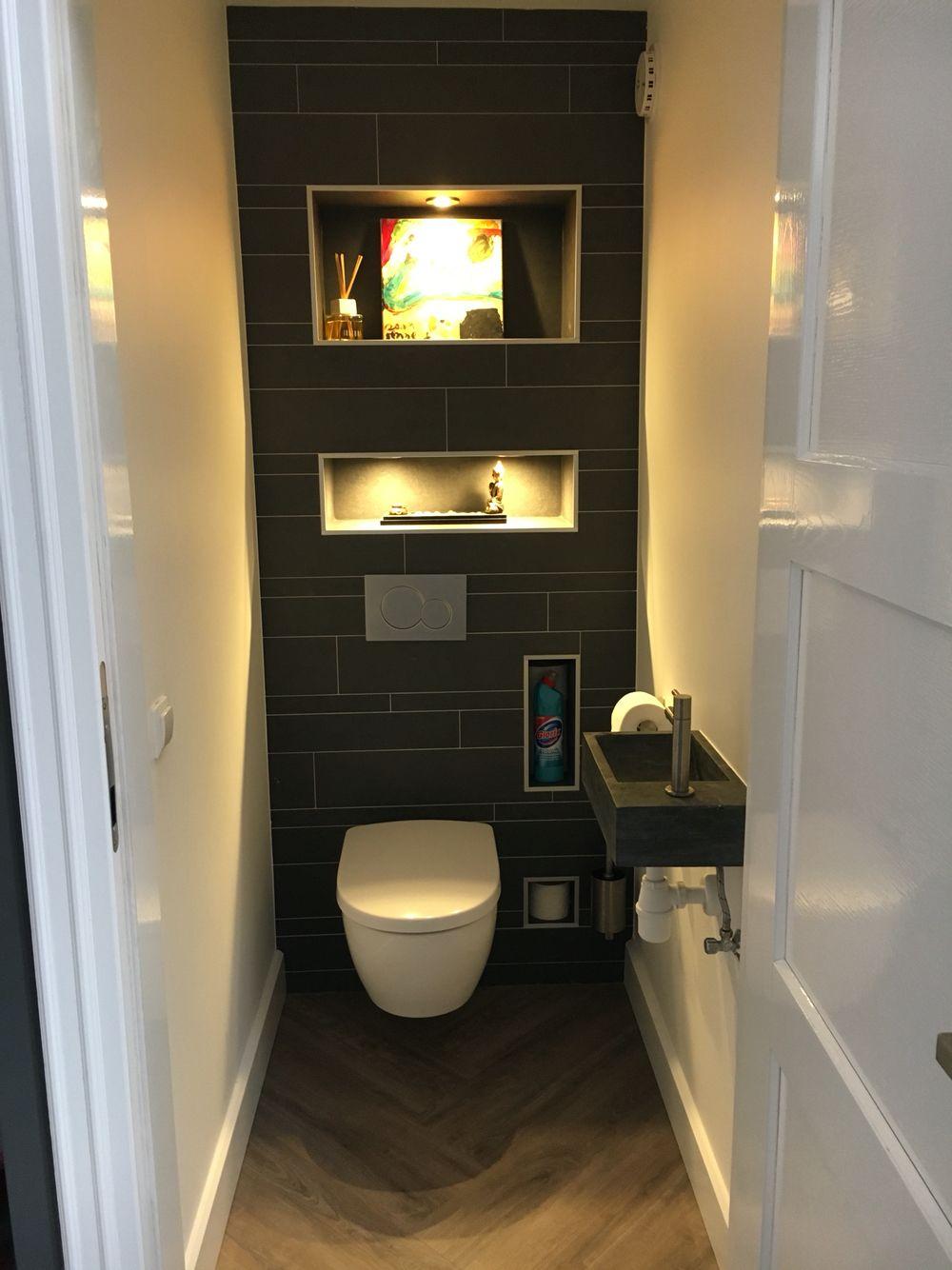 Toilet bijna af verschillende vakjes voor wc papier en decoratie zwart toilet fonteintje for Decoratie wc