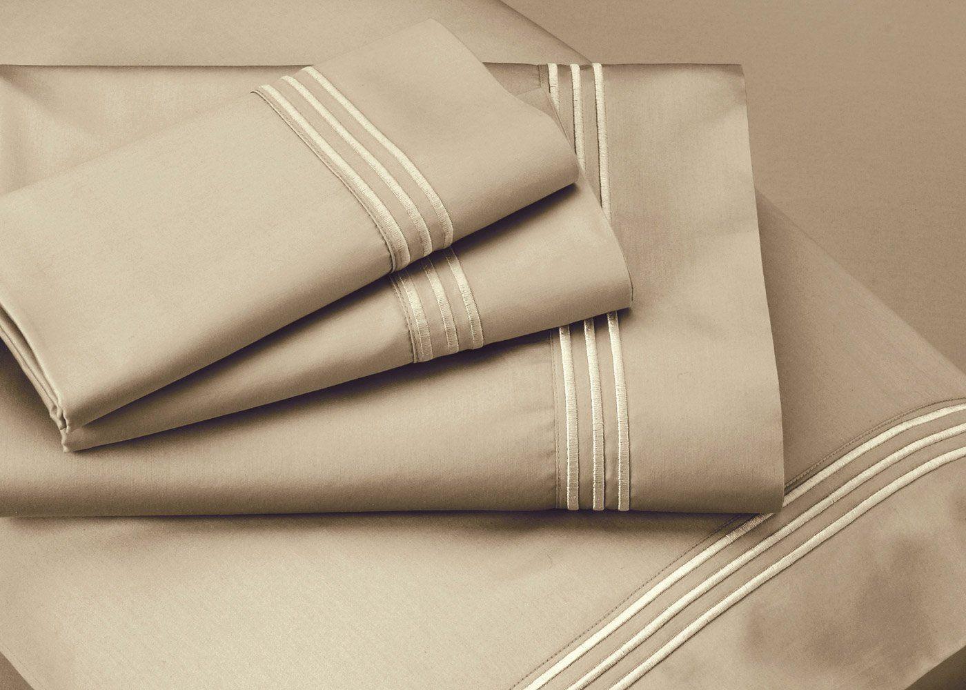 Premium Celliant Sheet Set in 4 Colors - Queen / Sand