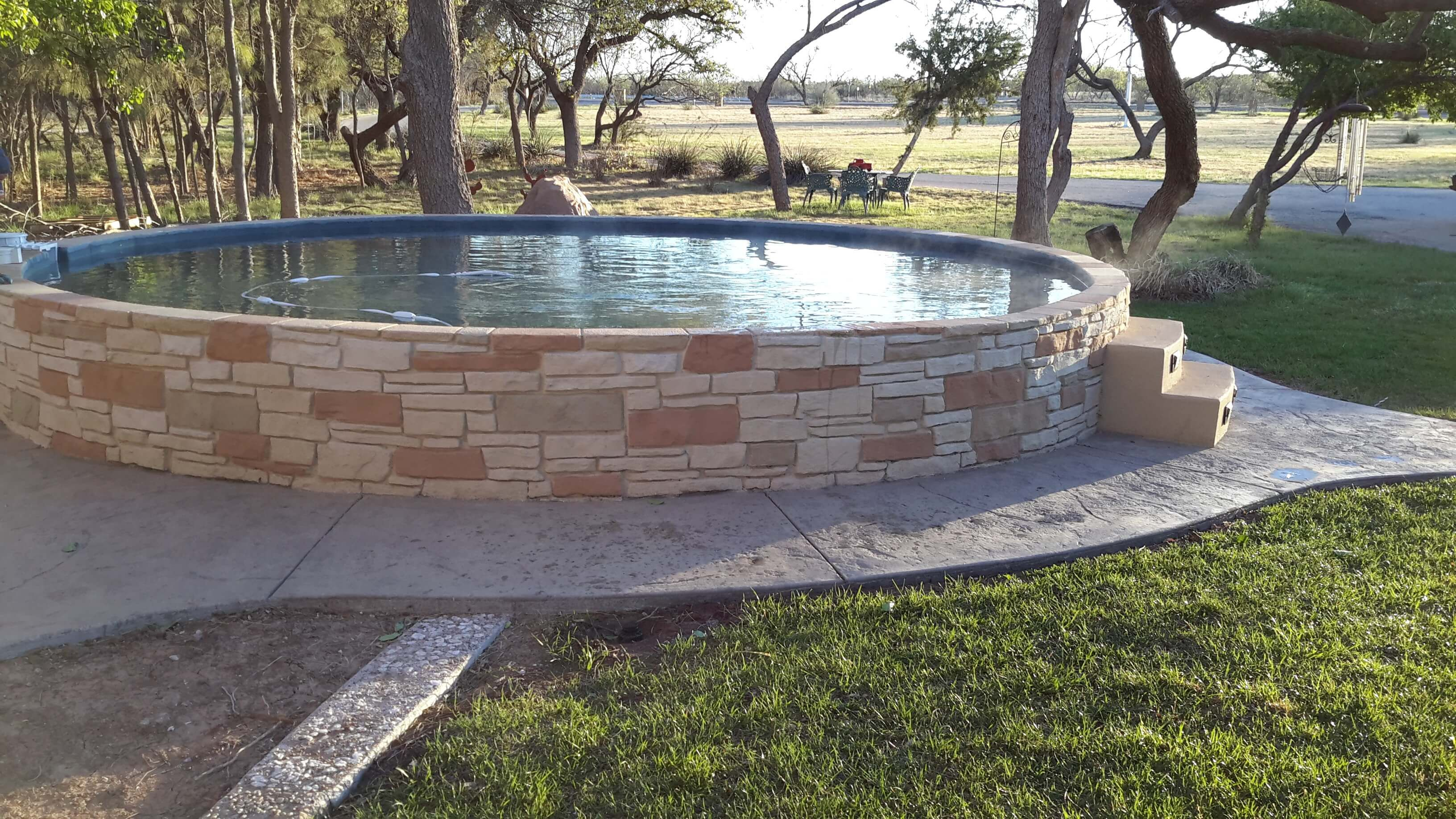 Pool From Stock Tank 22 Cheap Pools Pinterest Stock Tank Stock Tank Pool And Backyard