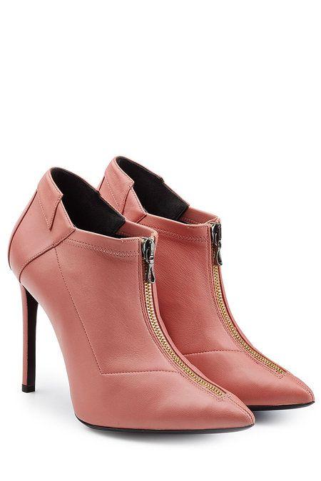 Roland Mouret Leather Ankle Boots L7jN8
