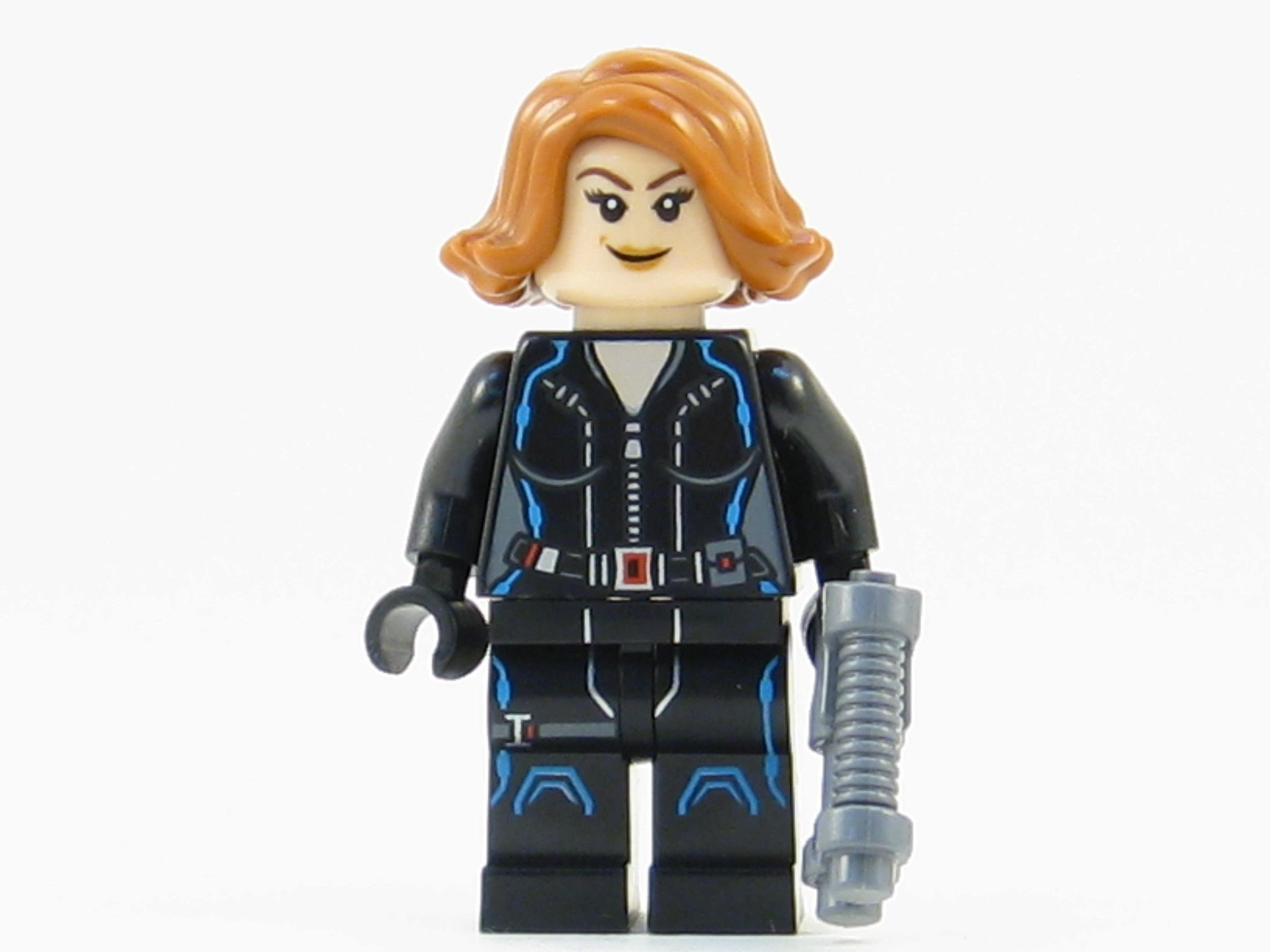 LEGO Marvel Avengers Super Heroes Black Widow Minifigure ...