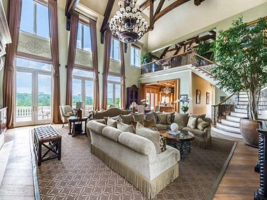 The Lavish Living Room Is Breathtaking