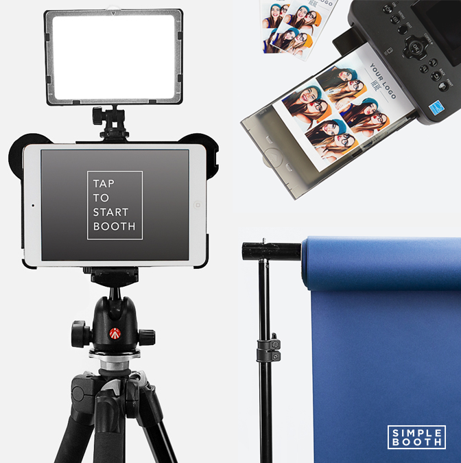 DIY Photo Booth from Simple Booth #photobooth #DIYphotobooth
