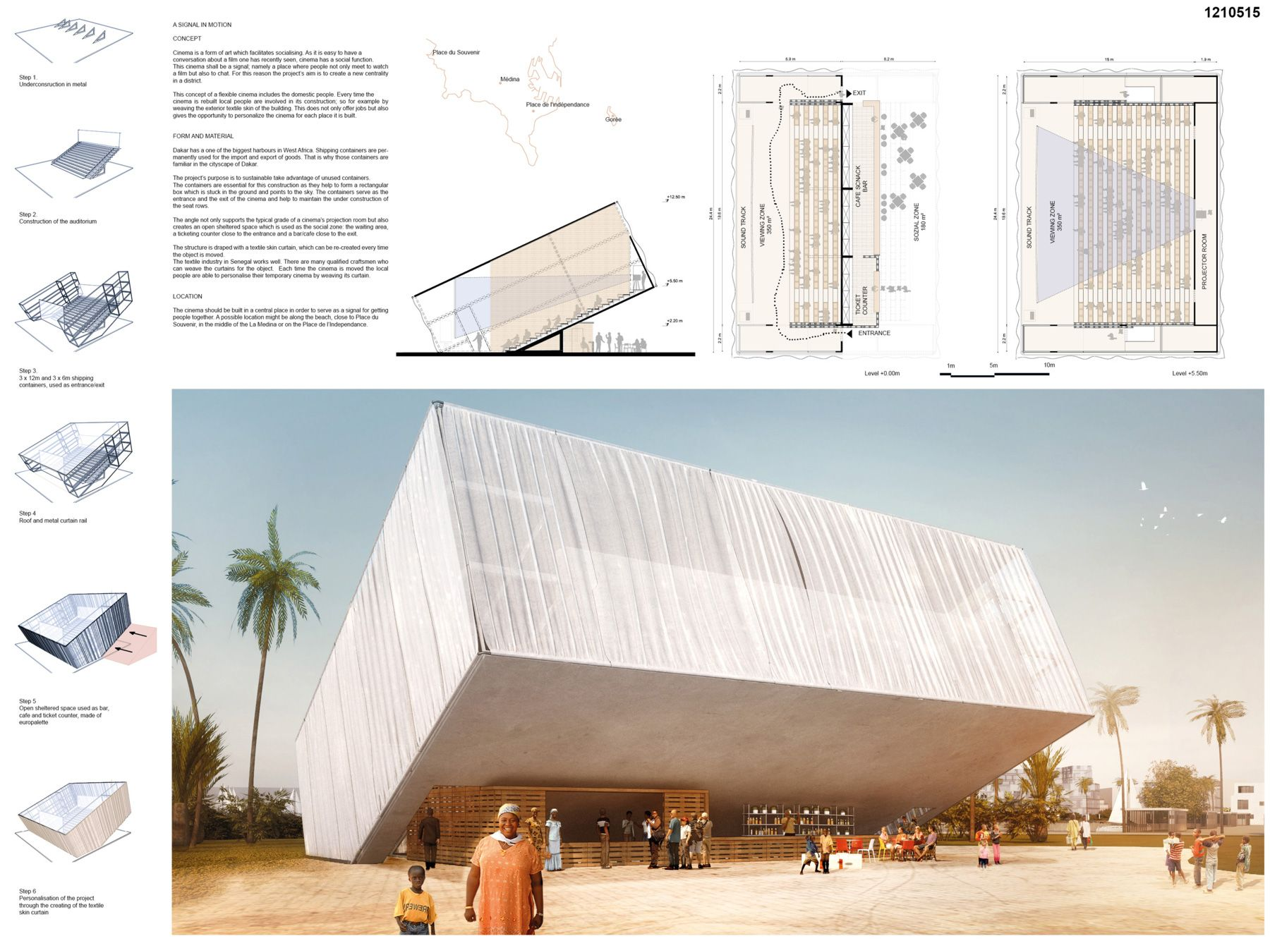 Ac ca international architectural competition concours for Ca design