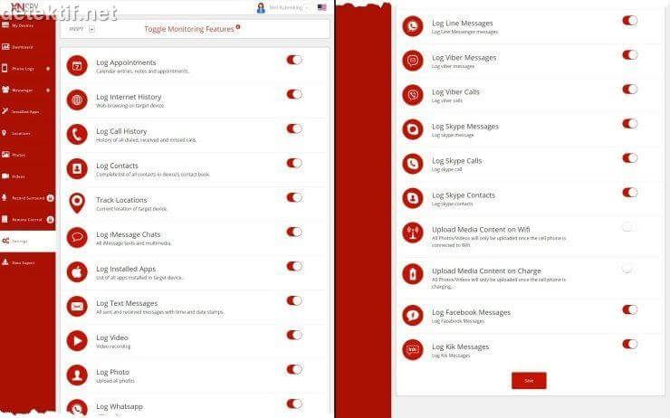 Cara Hack HP melalui PC - Penyadap SMS, Aplikasi chat BBM