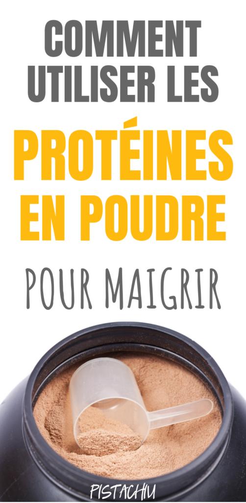 Comment Utiliser Les Protéines En Poudre Pour Perdre Du Poids